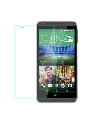Samsung Samsung Htc Desire 820 Şeffaf Ekran Koruyucu Renkli